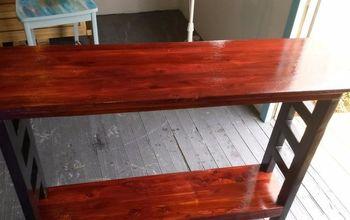 Repurposed Red Cedar....RIGHT OFF THE CURB !