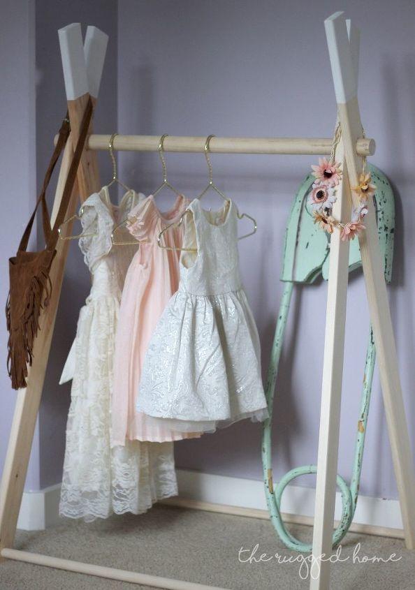 Greatest DIY Kids Clothing Rack | Hometalk LZ38