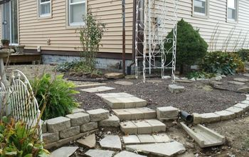 Building New Garden Stairs to Back Yard