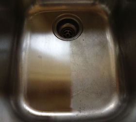 A way to clean and shine my stainless steel sink Hometalk
