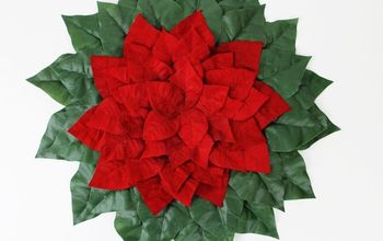 Quick Poinsettia Placemats