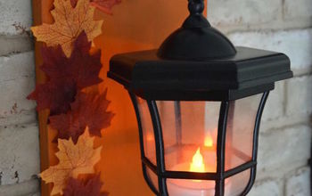 diy lanterns upcycled from thrifted pathway lights, outdoor living, repurposing upcycling