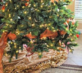 How To Decorate A Christmas Tree With Deco Mesh Bow Topper