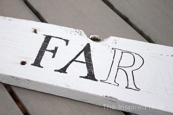 diy farmhouse sign, crafts