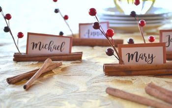 Cinnamon Stick Place Cards
