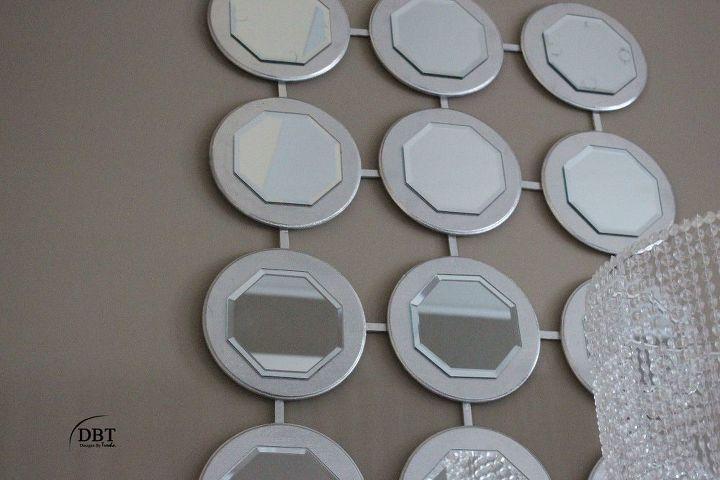 diy wall mirror, home decor