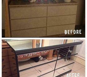 Merveilleux Diy Mirrored Dresser , Painted Furniture