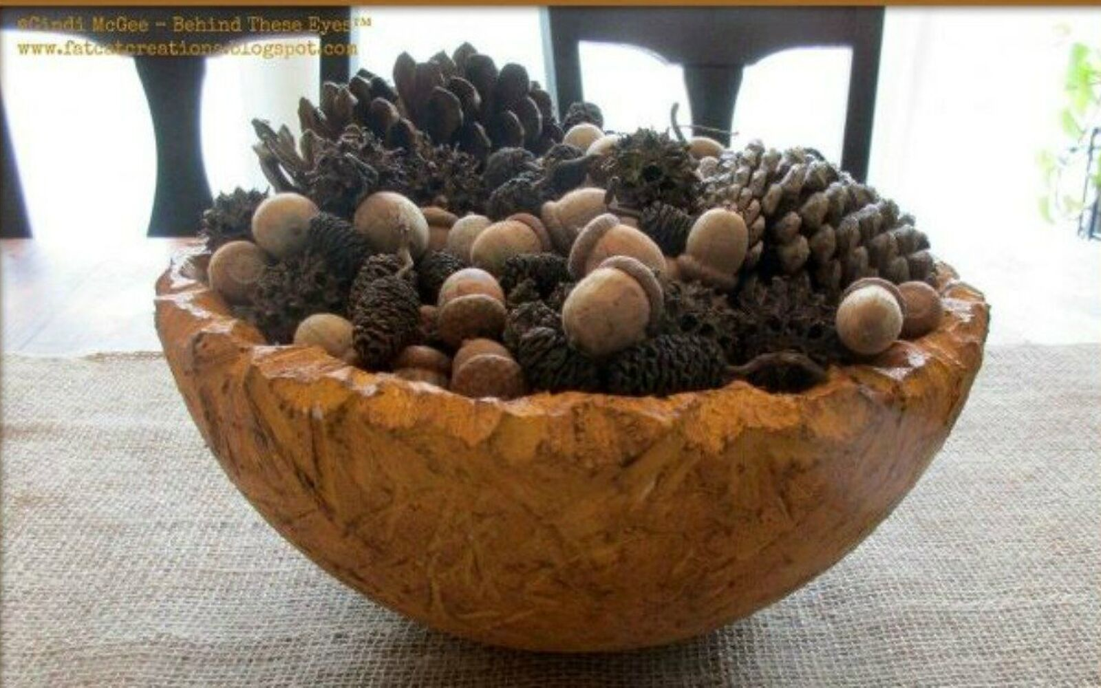 s cut up styrofoam for these breathtaking christmas ideas, christmas decorations, Form them into a wood carved bowl
