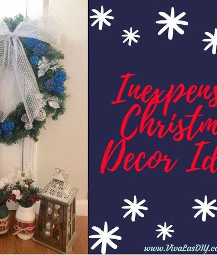inexpensive christmas decor ideas , christmas decorations, home decor