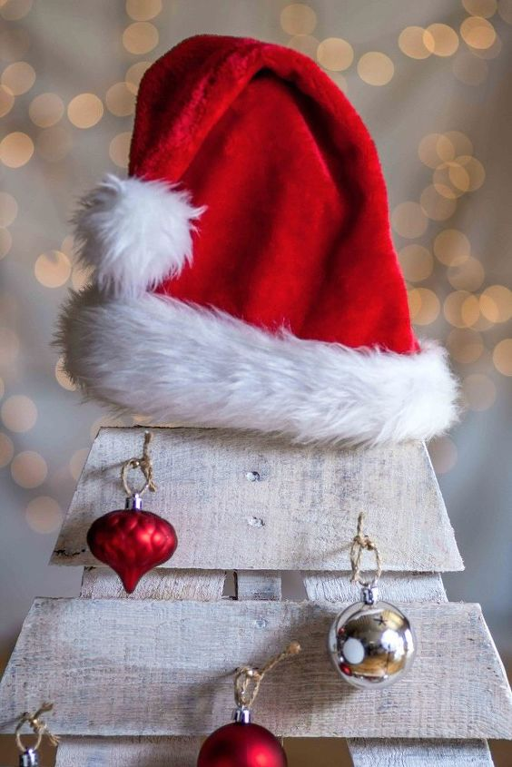 diy pallet christmas tree, pallet