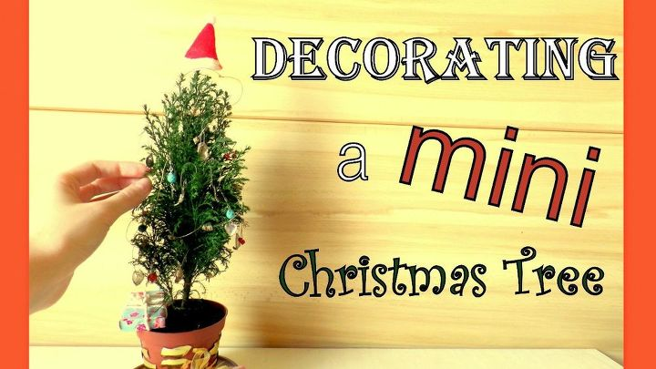 decorating a mini christmas tree cute diy tiny ornaments by fluffy christmas decorations seasonal