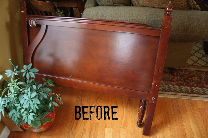 modern daybed gets an antique look, repurposing upcycling - Modern Daybed Gets An Antique Look Hometalk
