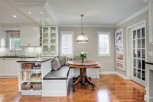 Corner kitchen islands with seating hometalk - Built in kitchen island ...