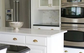 white painted cabinets simplify a kitchen renovation, kitchen cabinets, kitchen design