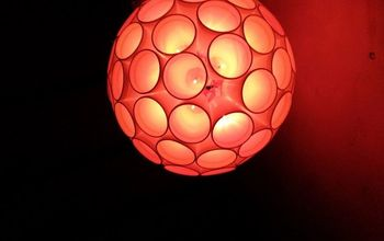 Best DIY Home Decor : Light Ball Using Thermocol Glasses