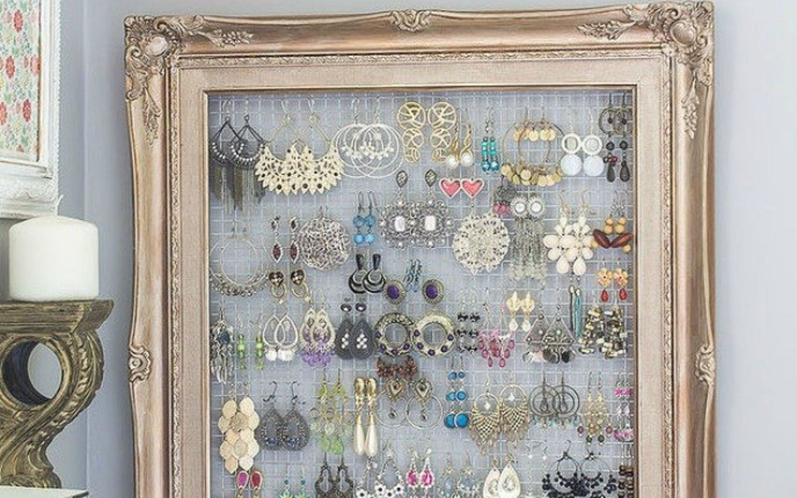s 18 diy christmas gift ideas you ll want to keep for your home, home decor, This stunning jewelry display board