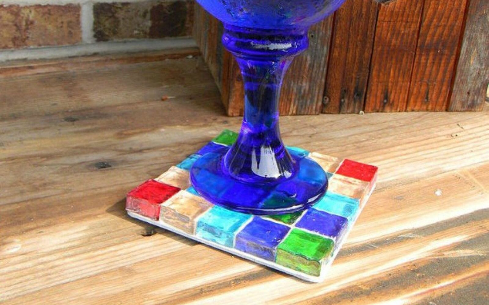 s 18 diy christmas gift ideas you ll want to keep for your home, home decor, These colorful gem trivets and coasters