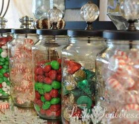 Christmas Gift Ideas For Home Part - 50: These Homemade Crystal Knob Candy Jars