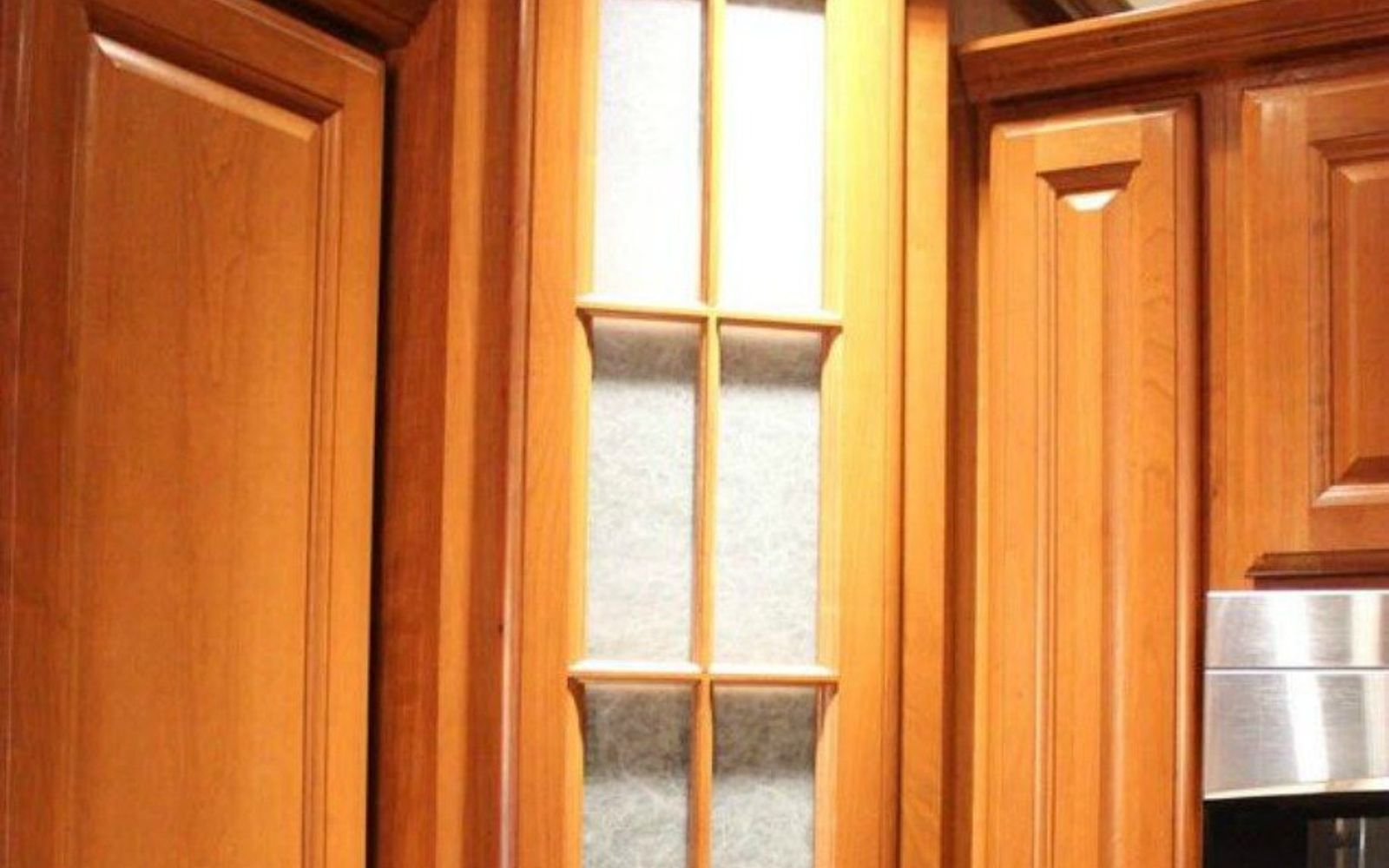 How To Put Glass In Kitchen Cabinet Doors: Transform Your Kitchen Cabinets Without Paint (11 Ideas