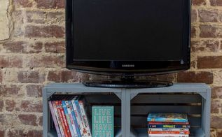diy tv from crates