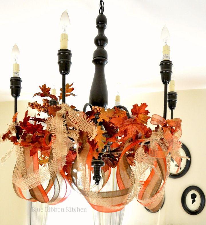 Image result for thanksgiving chandelier
