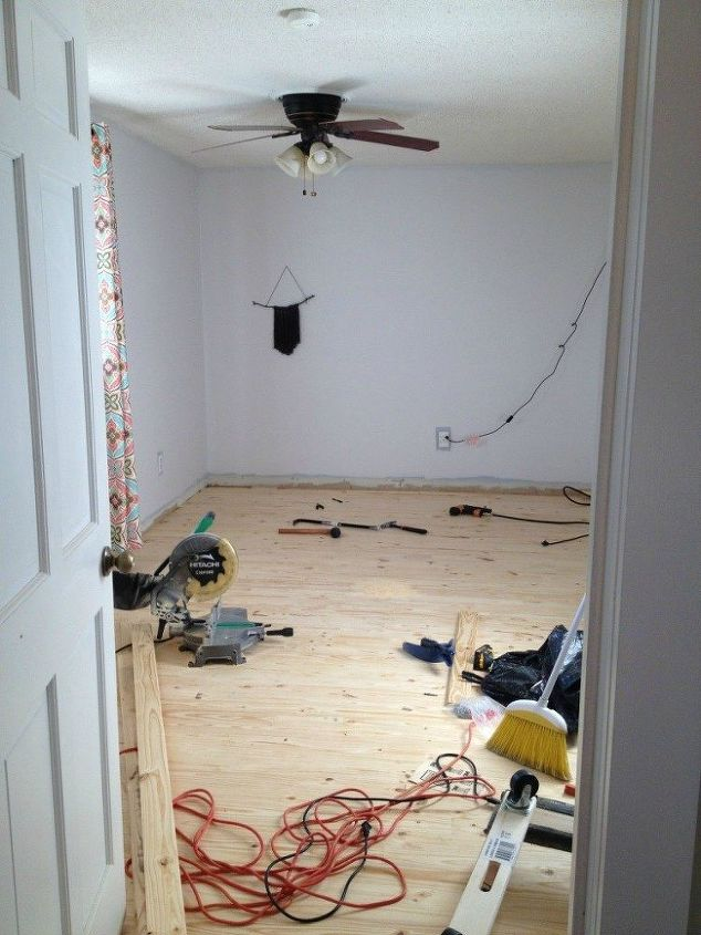 how we installed read wood floor for 1 50 sq ft, flooring