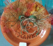 give thanks plates
