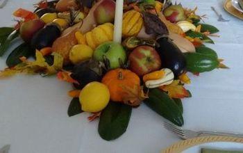 Edible Thanksgiving Centerpiece