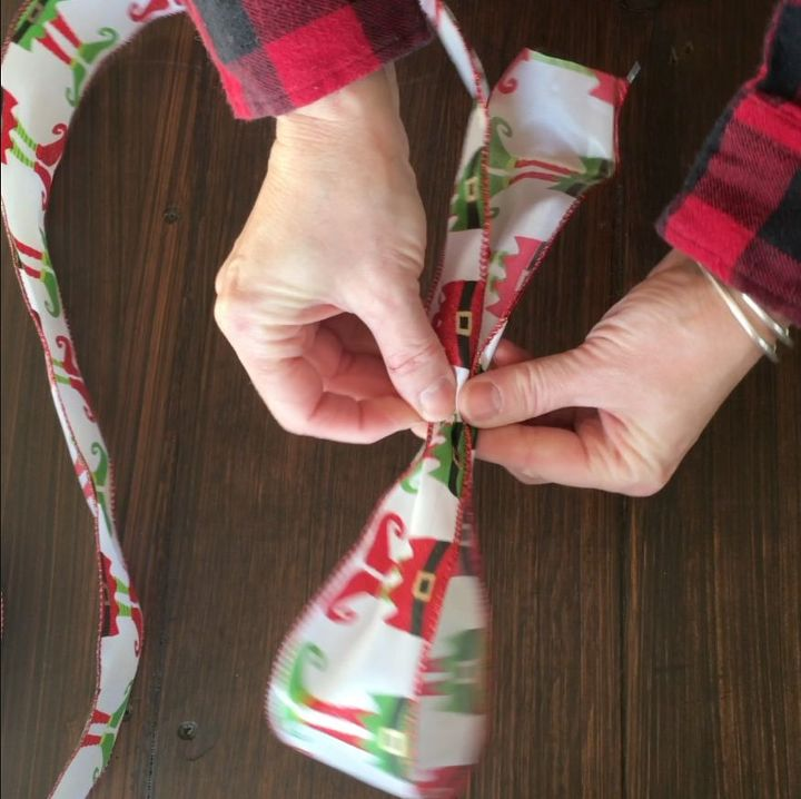 how to tie a christmas bow with wire ribbon crafts how to