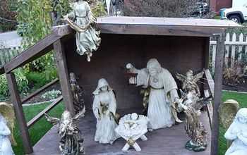 How To Create A Beautiful Outdoor Nativity Scene