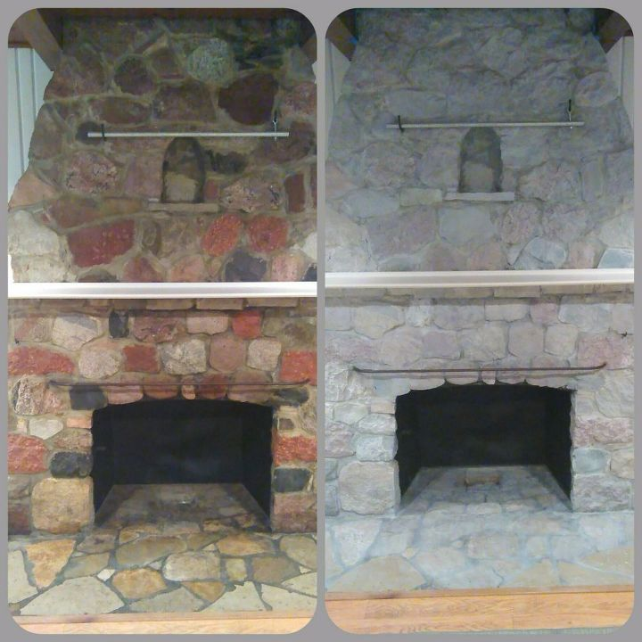 ideas fireplace tile stone cultured also beautiful corner rock makeover