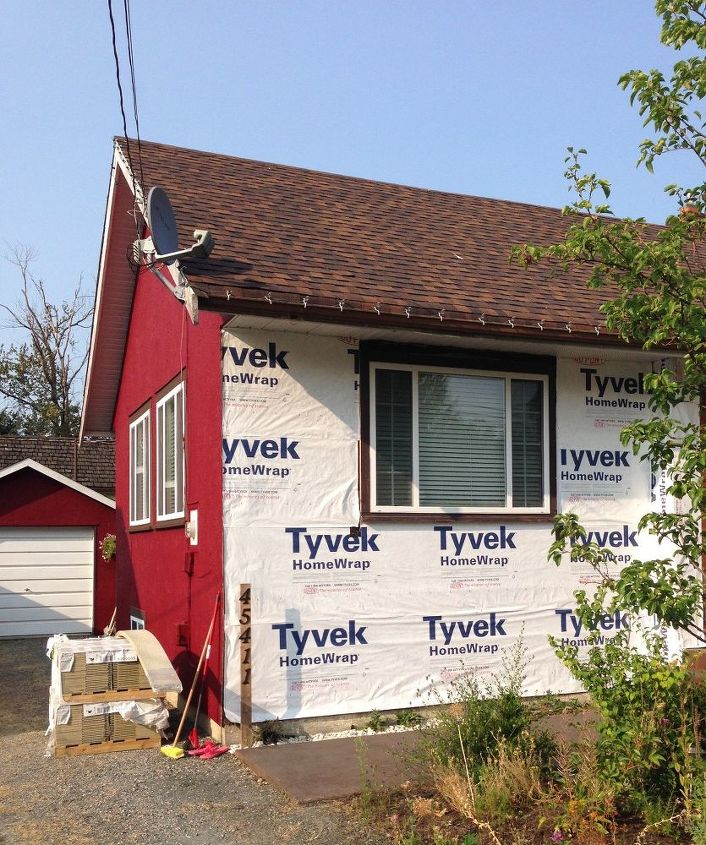 new exterior on an old house