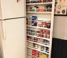 hide away pantry kitchen storage, closet, kitchen design, storage ideas