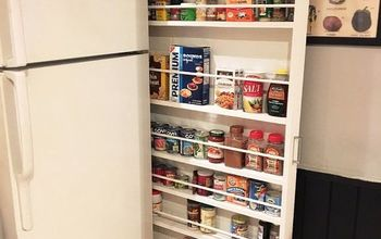 Hide-Away Pantry / Kitchen Storage