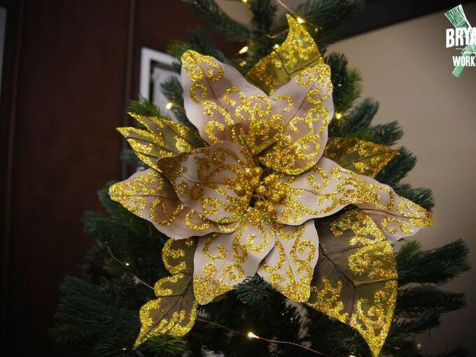how to make christmas flowers , gardening, how to