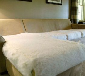 wash your old cushion covers