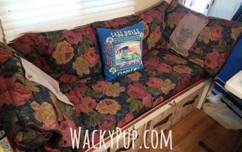 Replace Camper Dinette With Comfy Couch and Storage