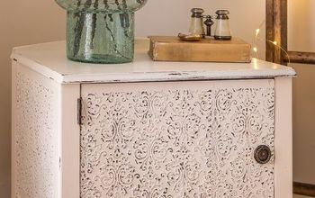 ornate antique detailing, repurposing upcycling