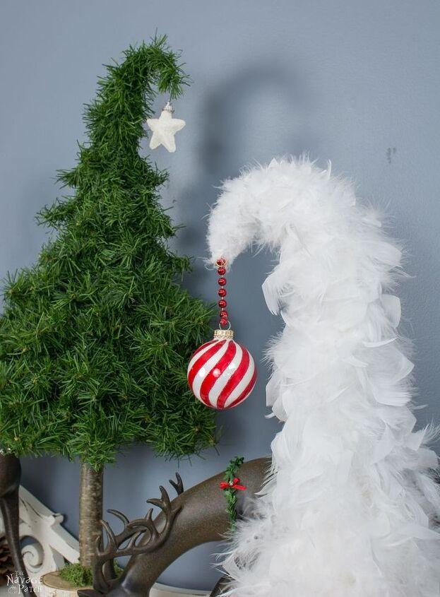 whimsical tabletop christmas trees - Table Christmas Tree