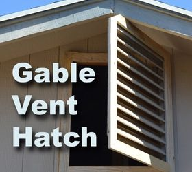 How I Converted an Attic Vent Into a Quick Access Hatch & How I Converted an Attic Vent Into a Quick Access Hatch | Hometalk