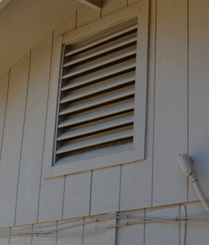 how i converted an attic vent into a quick access hatch, hvac