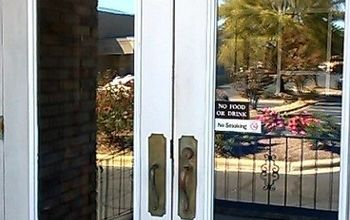 Painting an Office Front Door