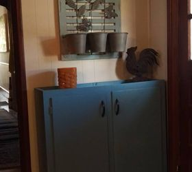 Upper Kitchen Cabinet Repurposed As A Small Pantry, Closet, Kitchen Cabinets,  Kitchen Design