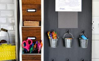 diy desk organizer for your office, organizing, painted furniture