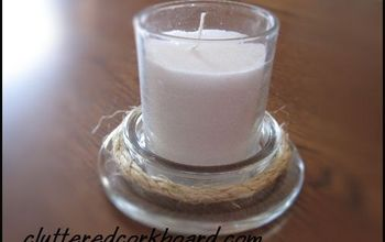 Use a Lot of Jar Candles?  Here Are 2 Idea's for the Glass Lids