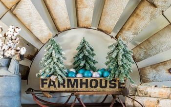 DIY Farmhouse Christmas Tote