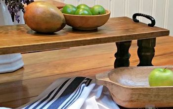 easy reclaimed wood farmhouse tray