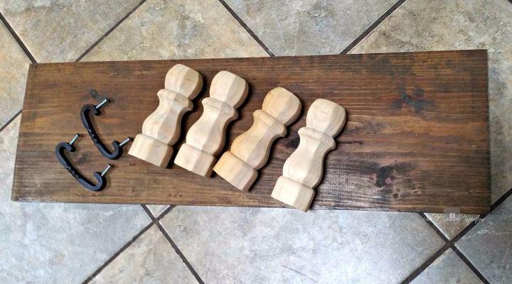 easy reclaimed wood farmhouse tray