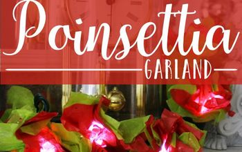 Poinsettia Twinkle Lights