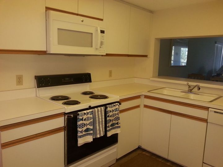 Before And After Images Of Painted Kitchen Cabinets